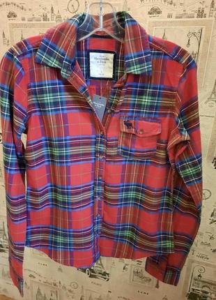 Рубашка  abercrombie & fitch оригинал