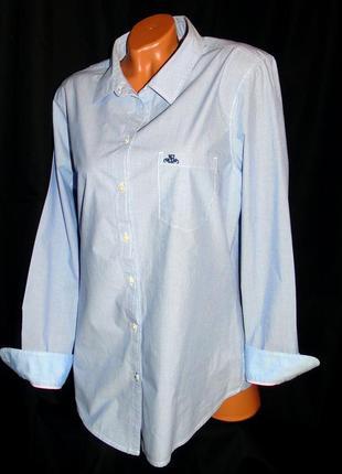 Hampton republic шикарная брендовая рубашка- xxxl - xxl
