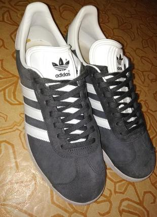 Adidas gazelle solid grey