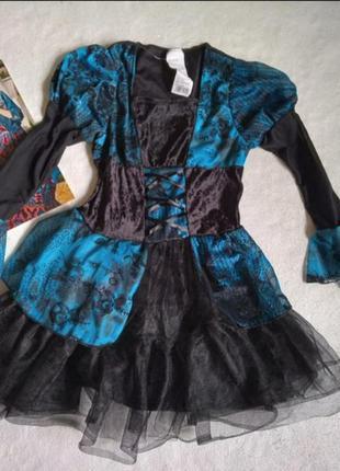 Карнавальное платье на хэллоуина