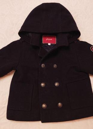 Пальто для мальчика jacadi (франция) 18 мес.