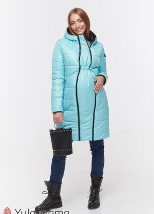 Двухстороннее пальто для беременных