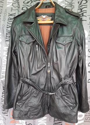 Harley davidson женская кожаная куртка
