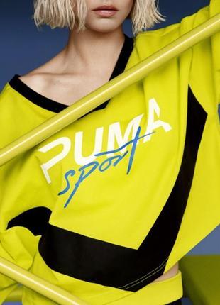 Женская спортивная футболка hit puma
