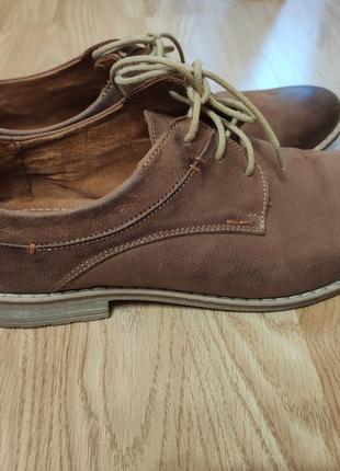 Чоловічі туфлі lasoski, натуральна шкіра