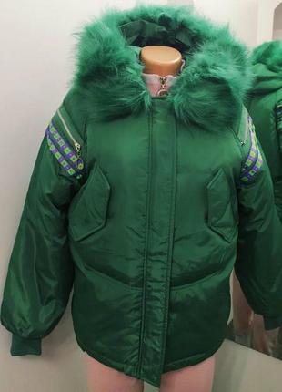 Зимние куртки, модель -оверсайз s,м,л,хл
