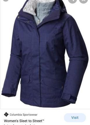 Columbia куртка 3 в 1