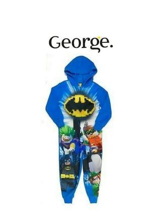 Cлип, человечек, пижама, кигуруми batman george