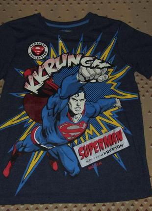 Футболка мальчику супермен 9 - 10 лет