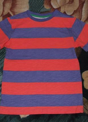 Хлопковая футболка мальчику 8 лет