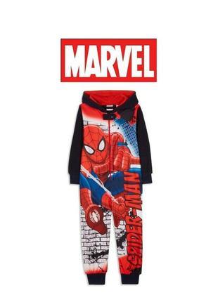 Cлип, человечек, пижама, кигуруми spider man marvel
