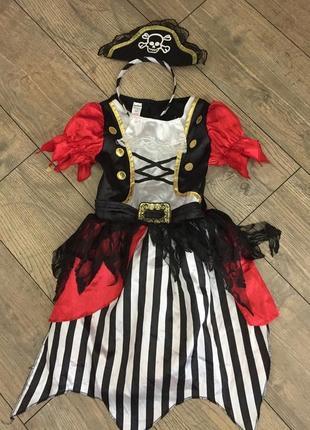 Карнавальная платье для хеллоуин на 5/6 лет