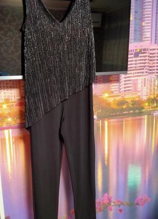 Классический модный народный комбинезон брюками 42_46