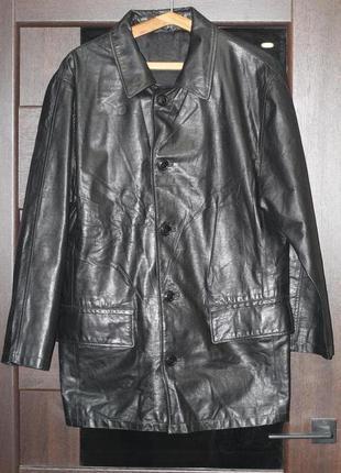 Роскошный пиджак, куртка из натуральной кожи наппа incognito