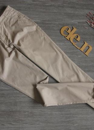 Светлые хлопковые брюки c&a eur 36/38
