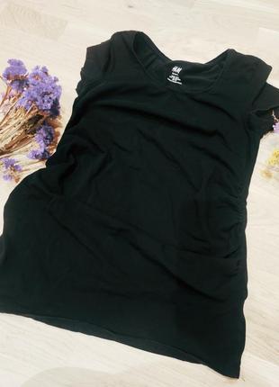 Стильная бащрвая футболка для беременных h&m hm