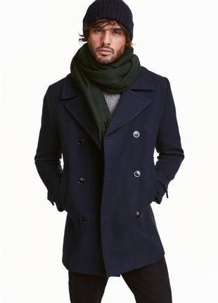 Двубортное пальто marc o'polo 80% шерсть