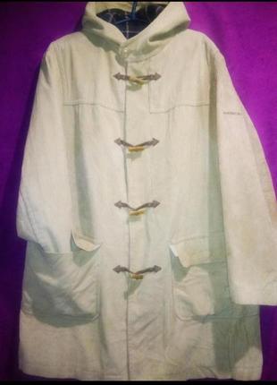 Вельветовый тренч-пальто дорогого бренда