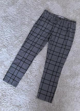 Стильные брюки в клетку top man
