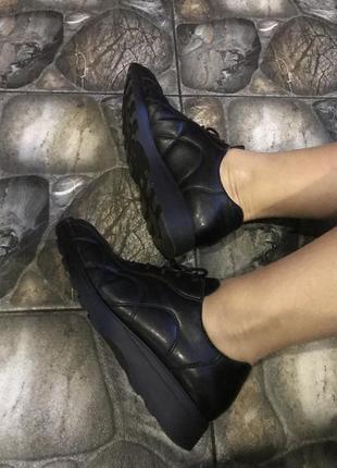 Кроссовки ботиночки кожа!!
