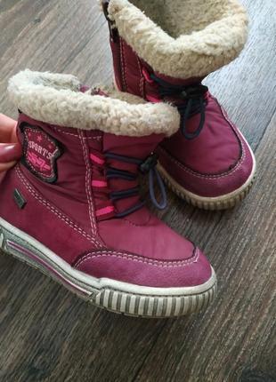 Зимние ботиночки, полусапожки 23 р