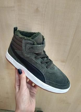 Високие кеды  ботинки puma rebound street [367868 02] оригинал 2019