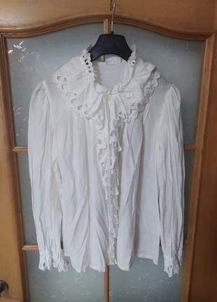 Шикарная винтажная блуза от madeleine,p.38