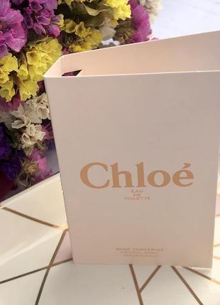 Пробник парфюма chloe rose tangerine