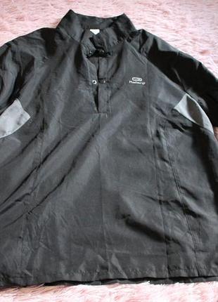Легка спортивна кофта- сорочка kalenji l- xl