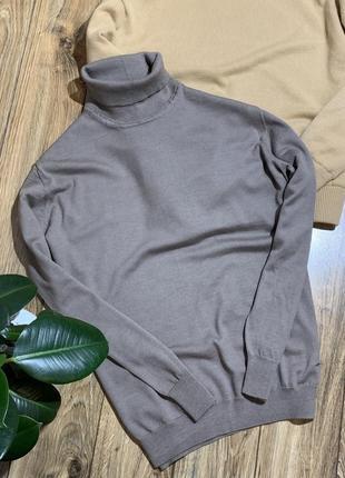 Водолазка , свитер под горло шерсть 100%