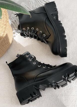 Ботиночки черные зима