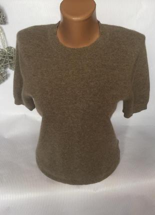 Мягкий нежный свитер , кашемир и шерсть