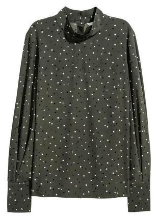 Блуза в горошек zara