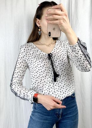 Красива блуза на запах
