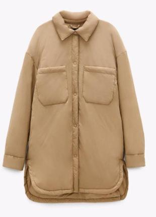 Куртка-рубашка от zara