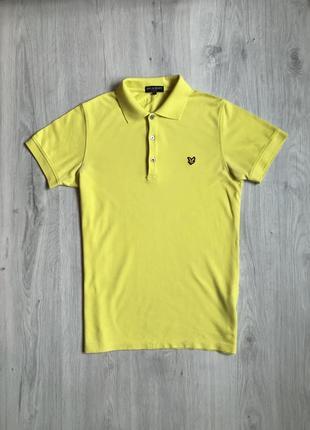 Мужская футболка поло lyle & scott