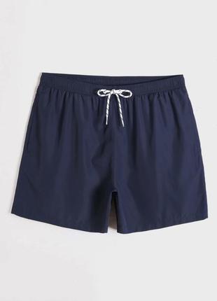 Шорти чоловічі темно-сині. плавки мужские, шорты для плавания, плавки-шорты.