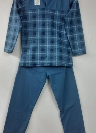 Теплая пижама для мальчиков/байковая пижама /пижама начесная