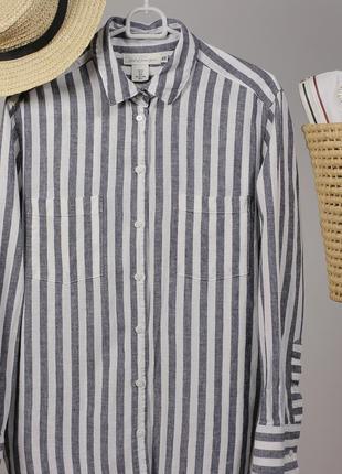 Полосата сорочка h&m за спокусливою ціною до 31.10