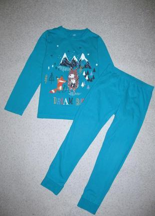 Пижама 7-8лет