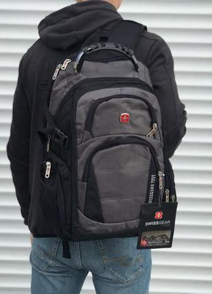 Крутой вместительный рюкзак swisgear