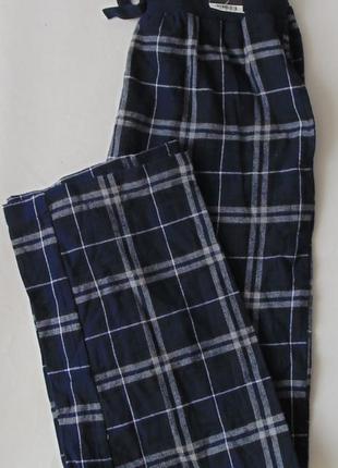 Пижамные штаны фланель с карманами george с
