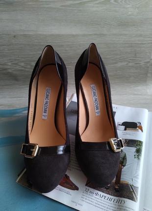 Кожаные туфли luciano padovan