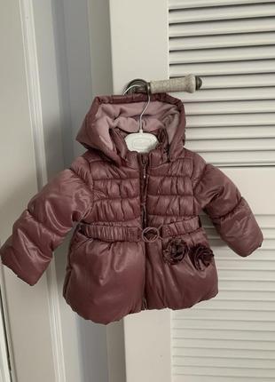 Куртка курточка теплая для девочки idexe