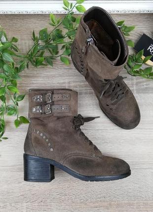 36🌿европа🇪🇺 geox. оригинал. классные демисезонные ботинки