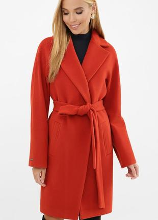 Терракотовое пальто осень/весна, демисезон 4 цвета. скидка к хеллоуину
