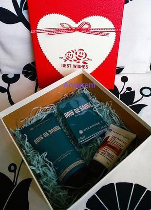 Готовим подарки! набор bois de sauge в подарочной коробке