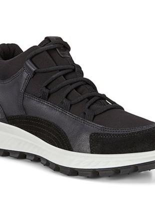 Мега удобные кожаные ботинки,черевики ecco exostrike kids 35р оригинал