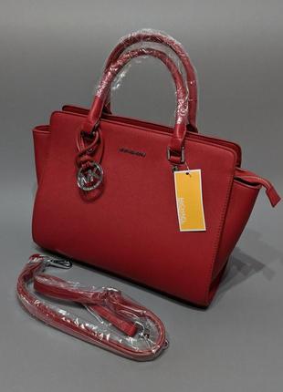 Красивая яркая новая женская вместительная сумка