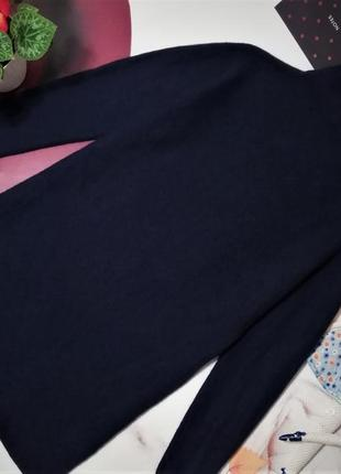 Платье оверсайз anna blue, 100% мягкая шерсть, размер xl